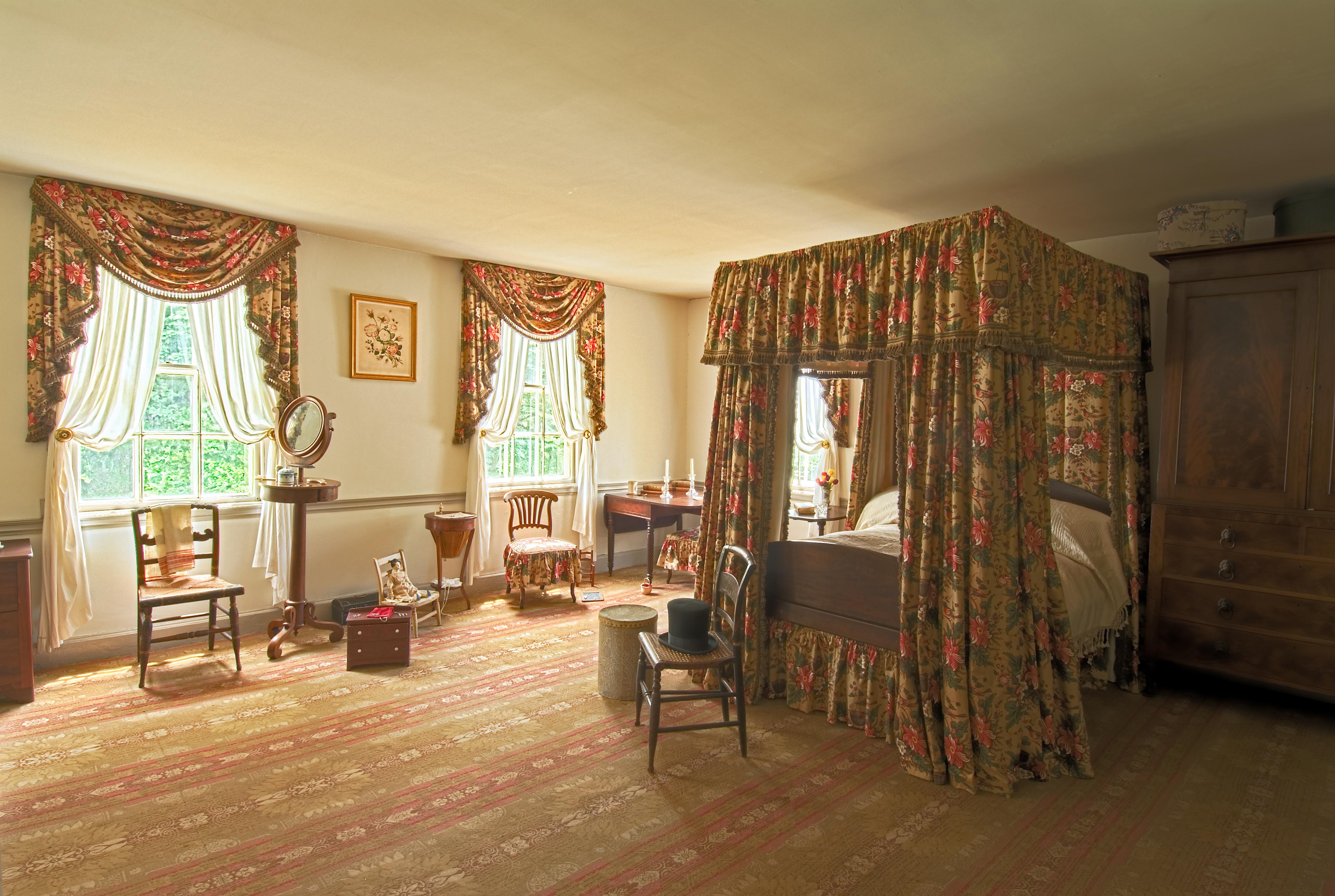 John Jay Homestead • William & Augusta Jay\'s Bedroom